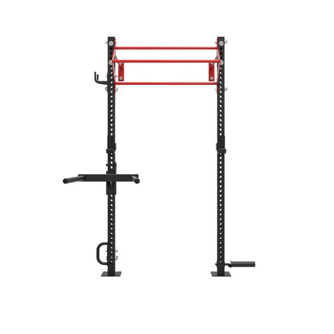 The Abs Company SGT 4W Small Group Training Wall Mount Compact Cage Side View