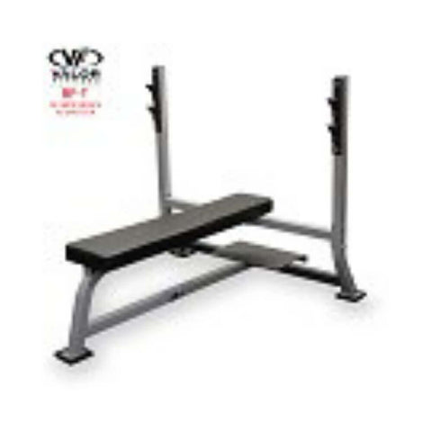 Valor Fitness BF-48 Olympic Bench Pro with spotter