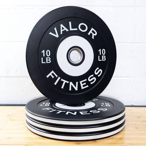 Valor Fitness Bumper Plate Pro BPP 10 lbs 3D View