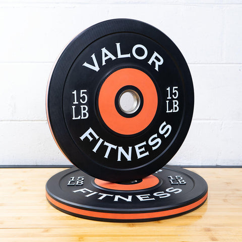 Valor Fitness Bumper Plate Pro BPP 15 lbs 3D View