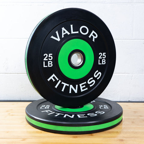 Valor Fitness Bumper Plate Pro BPP 25 lbs 3D View