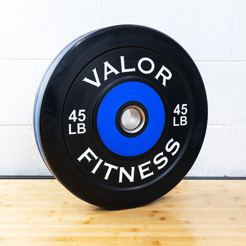 Valor Fitness Bumper Plate Pro BPP 45 lbs 3D View