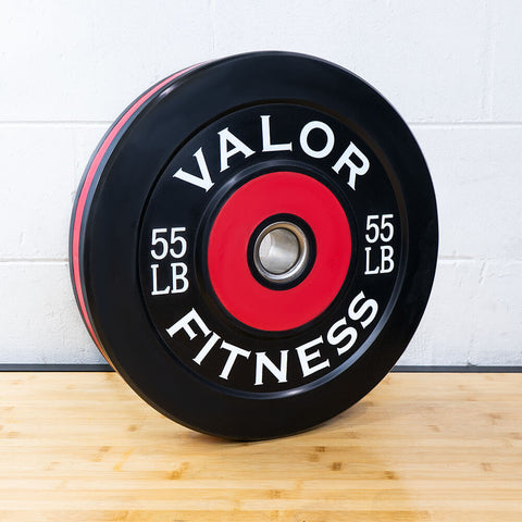 Valor Fitness Bumper Plate Pro BPP 55 lbs 3D View