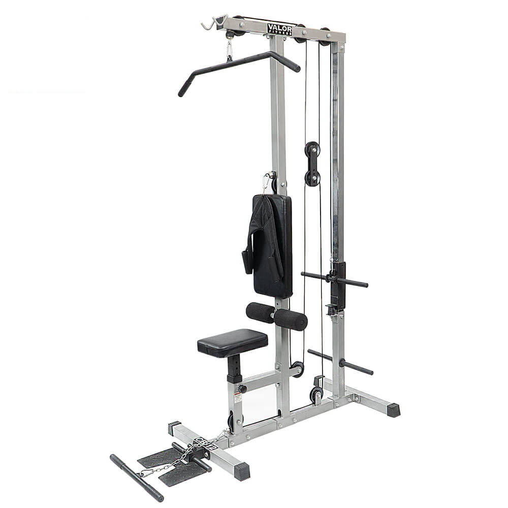 Valor Fitness Lat Pull DownPLGLow Row CB-12 3D View