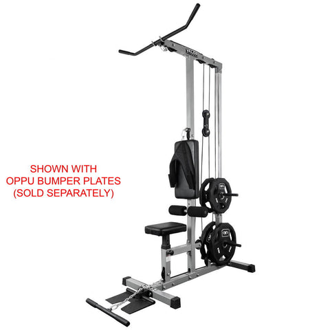 Valor Fitness Lat Pull DownPLGLow Row CB-12 With OPPU