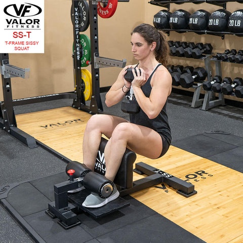 Image of Valor Fitness Sissy Squat Machine Bench SS-T With  DB Low