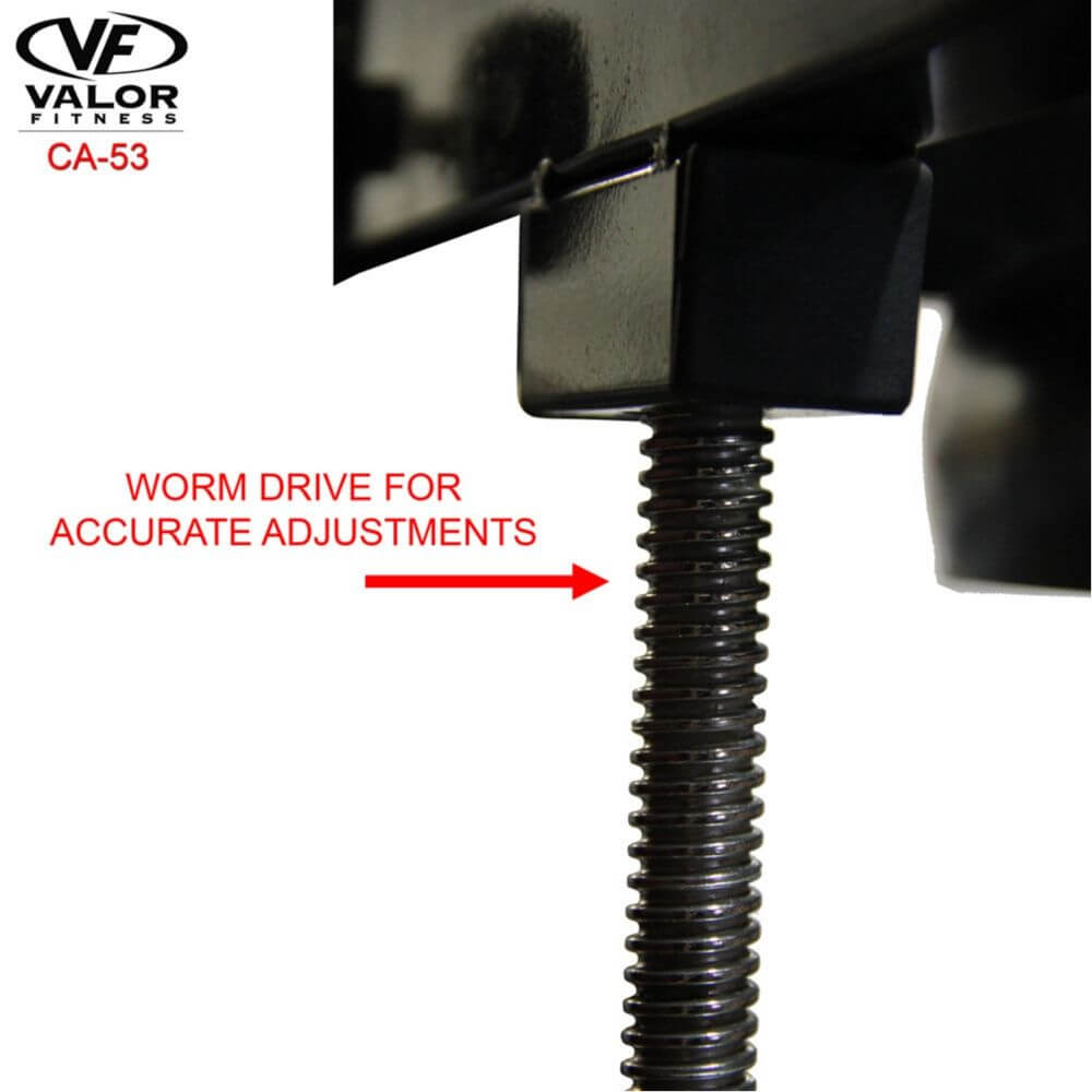 Valor Fitness 2_ Speed Bag Platform CA-53 Worm Drive Adjustment