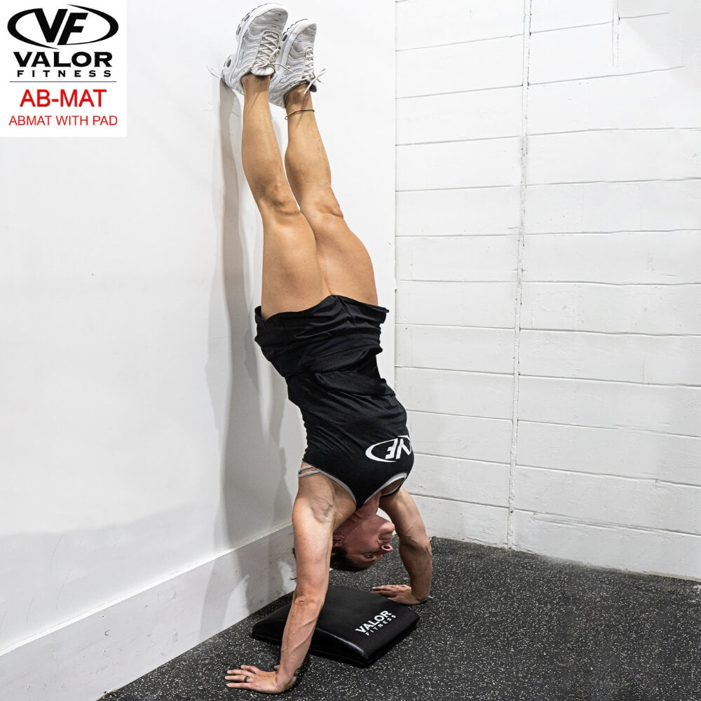 Valor Fitness AB-Mat Abmat with Pad Hand Stand