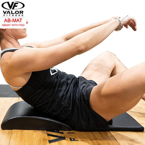 Valor Fitness AB-Mat Abmat with Pad Side View Crouch