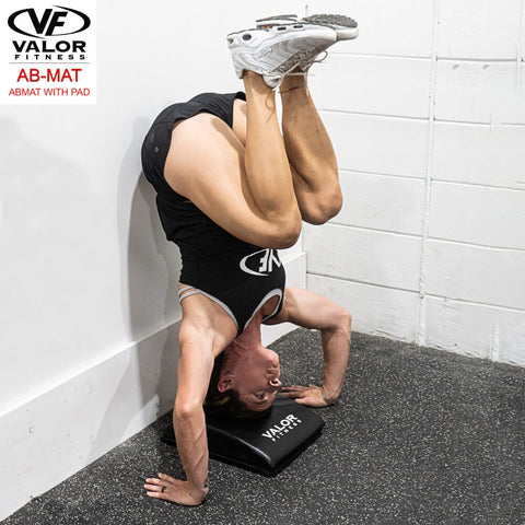 Valor Fitness AB-Mat Abmat with Pad Hand Stand Bend Knee