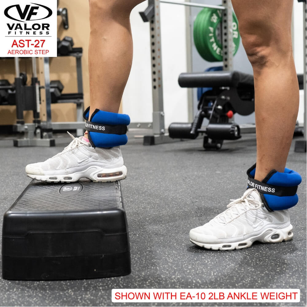 Valor Fitness AST-27 Aerobic Step Ankle Weight Close Up