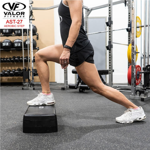 Image of Valor Fitness AST-27 Aerobic Step Side View