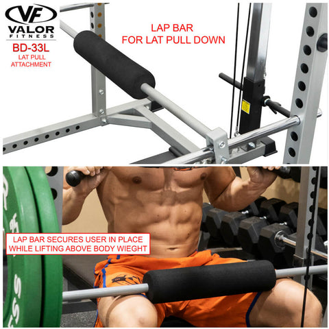 Image of Valor Fitness BD-33L Lat Pull for BD-33 Lap Bar