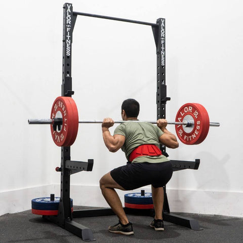 Image of Valor Fitness BD-57 Half Rack with Pull Up Bar Squat