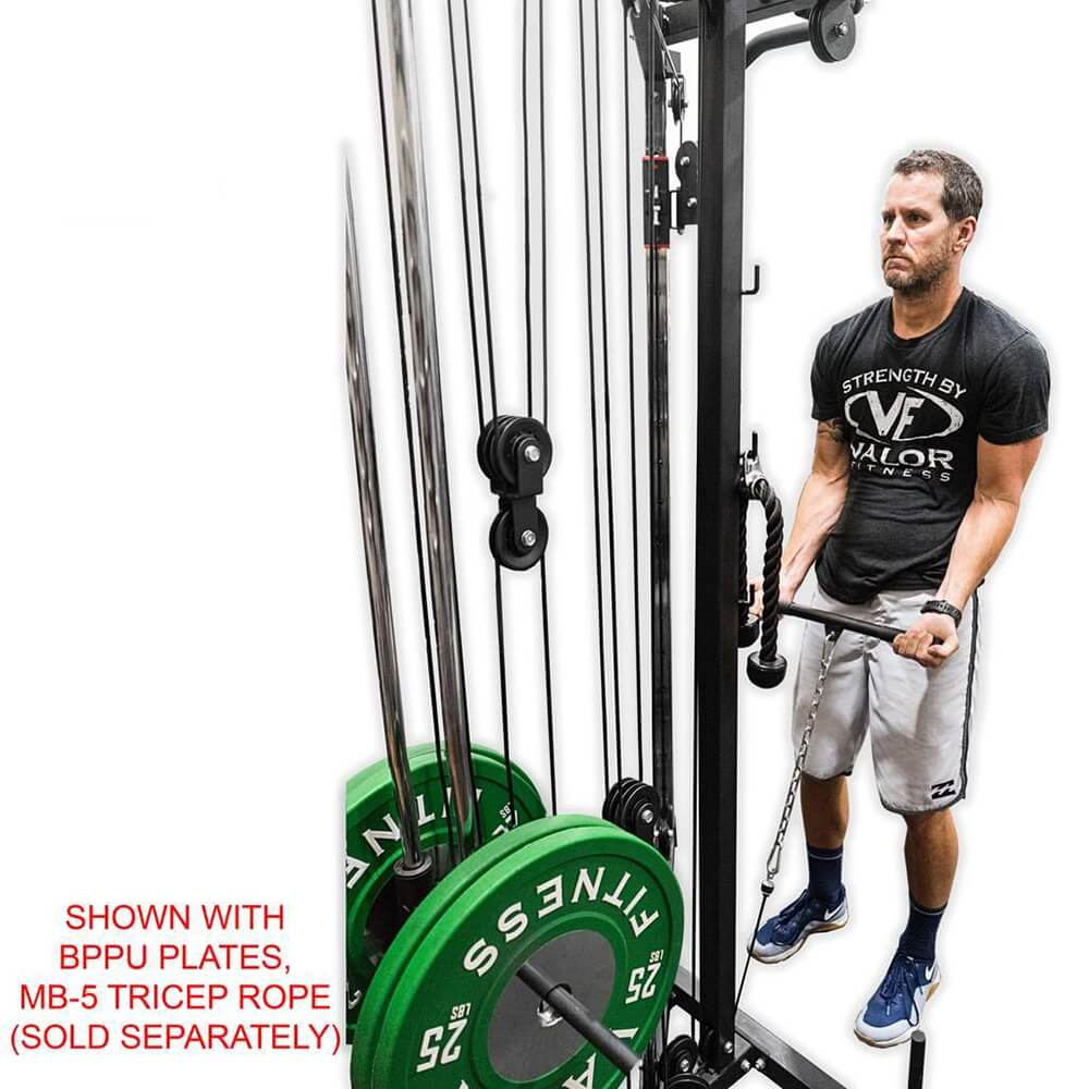Valor Fitness BD-61 Cable Crossover Station Bicep Curl