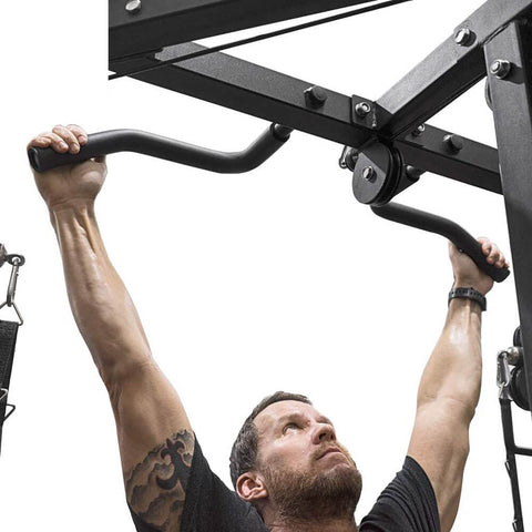 Valor Fitness BD-61 Cable Crossover Station Pull Up Close Up