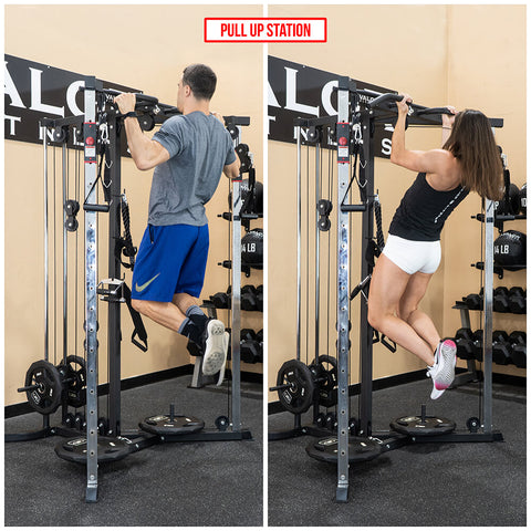 Valor Fitness BD-61 Cable Crossover Station Pull Up