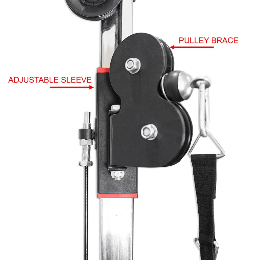 Valor Fitness BD-61 Cable Crossover Station Pulley