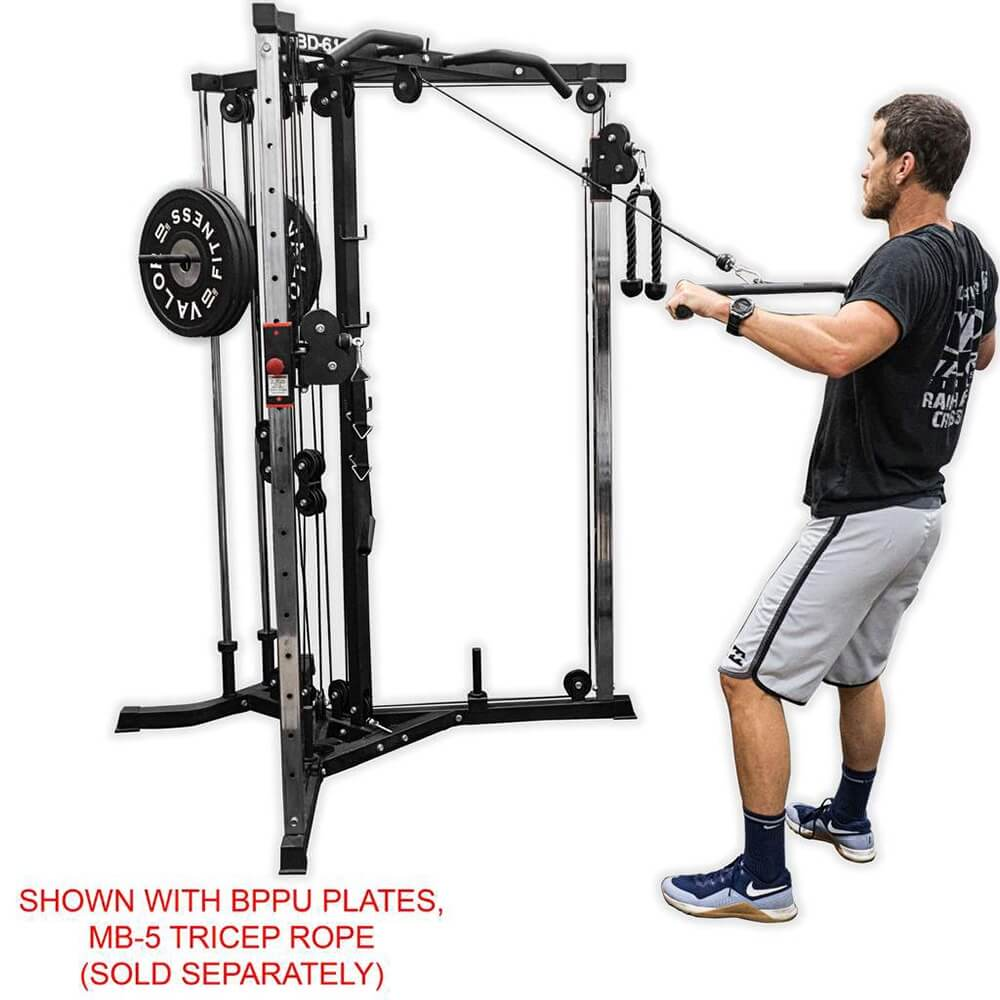 Valor Fitness BD-61 Cable Crossover Station Pulling Downward