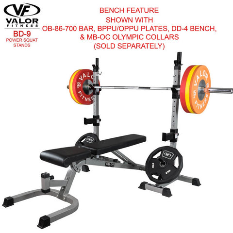 Valor Fitness BD-9 Power Squat Stands 3D View