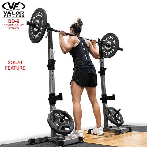 Valor Fitness BD-9 Power Squat Stands Squats