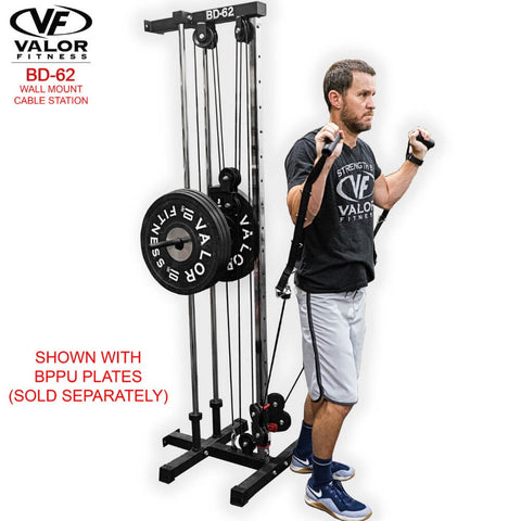 Valor Fitness BD62 Wall Mount Cable Station Back Pulling
