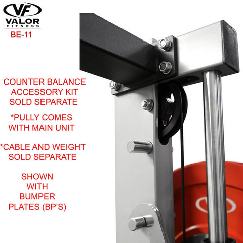 Valor Fitness BE-11 Smith Machine Bumper Plates