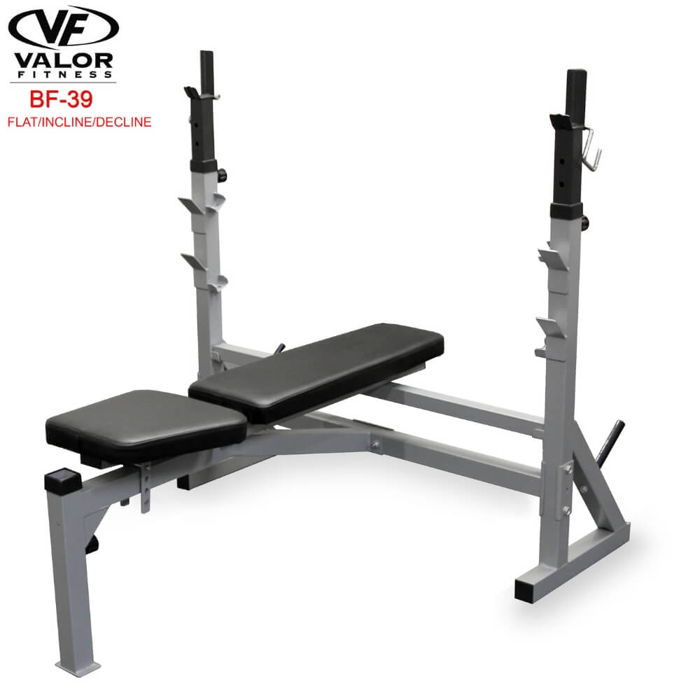 Valor Fitness BF-39 FID Olympic Bench 3D View