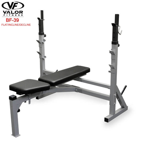 Image of Valor Fitness BF-39 FID Olympic Bench 3D View