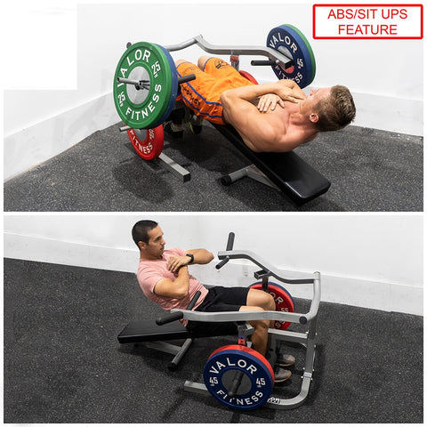 Image of Valor Fitness BF-47 Independent Level Bench Sit Ups