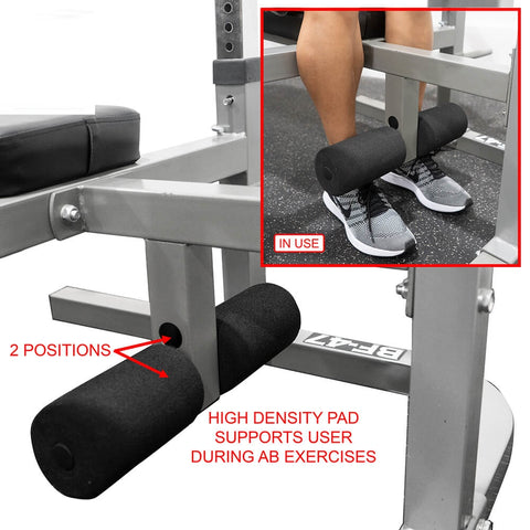 Image of Valor Fitness BF-47 Independent Level Bench Support Pads