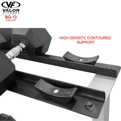 Image of Valor Fitness BG-13 Cups for BG-10 Contoured Support
