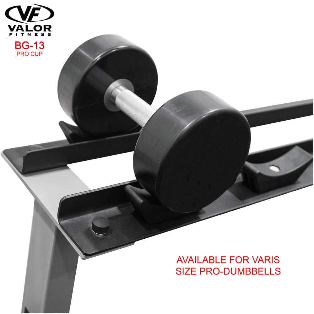 Valor Fitness BG-13 Cups for BG-10 Pro Size Dumbbells
