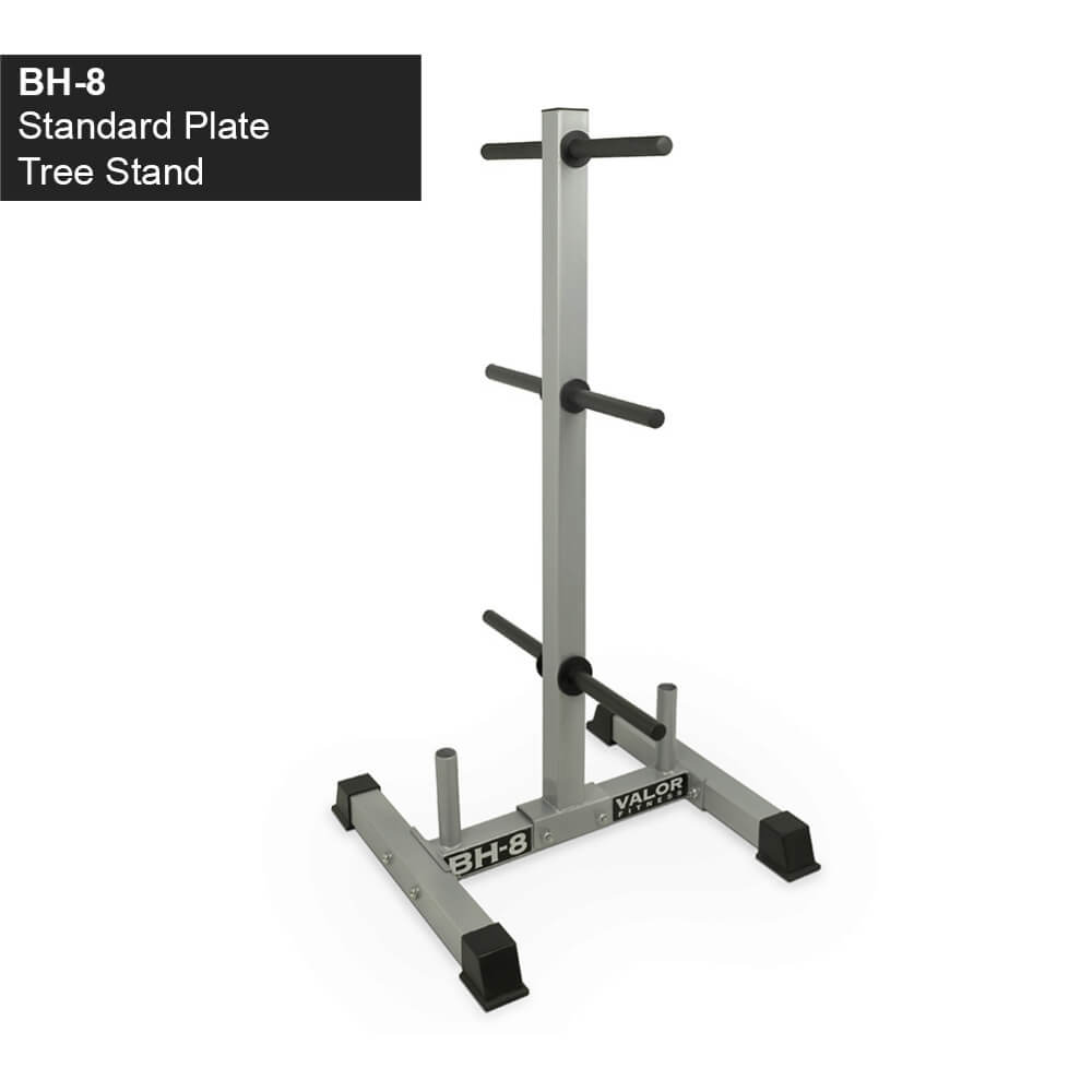 Valor Fitness BH-8 Standard Plate Tree Stand 3D View