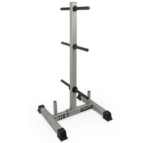 Image of Valor Fitness BH-8 Standard Plate Tree Stand Front Side View