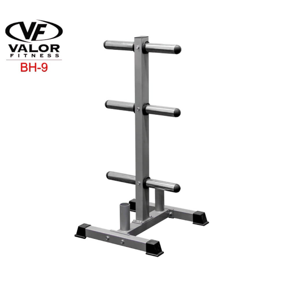 Valor Fitness BH-9 Olympic Plate Tree Stand 3D View