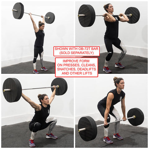 Image of Valor Fitness BP-TF Training Bumper Plate Exercises