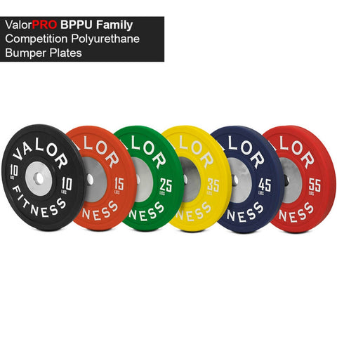 Image of Valor Fitness BPPU Polyurethane Bumper Plate Family
