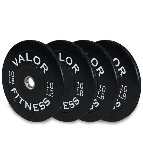 Image of Valor Fitness Bumper Plates BP 10lb