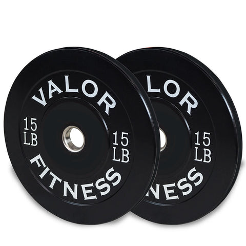 Image of Valor Fitness Bumper Plates BP 15lbs