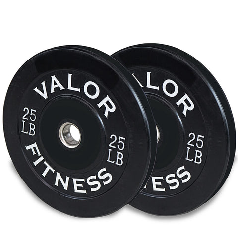 Image of Valor Fitness Bumper Plates BP 25lbs