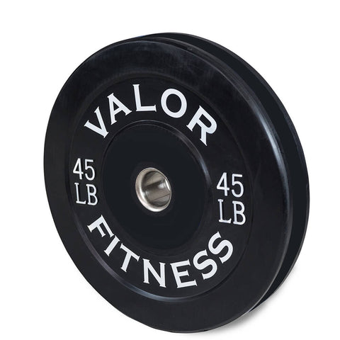 Image of Valor Fitness Bumper Plates BP 45lbs