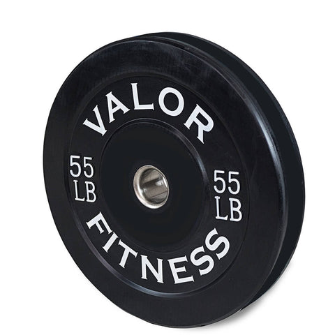 Image of Valor Fitness Bumper Plates BP 55lbs