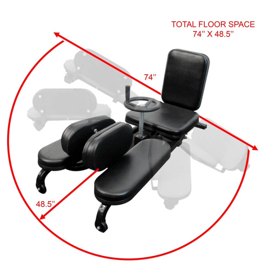 Valor Fitness CA-27 Leg Stretch Floor Space