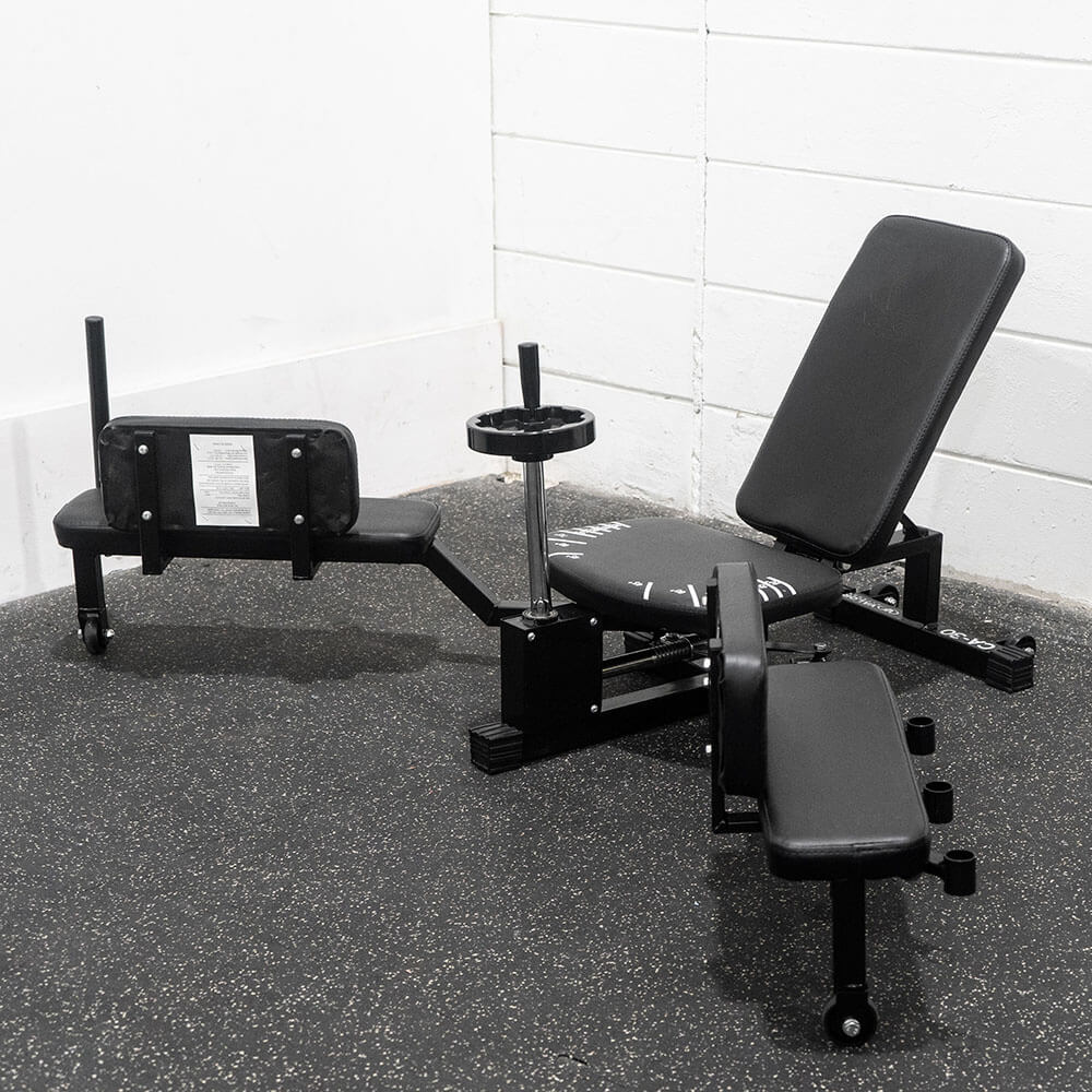 Valor Fitness CA-30 Leg Stretch Machine 3D View