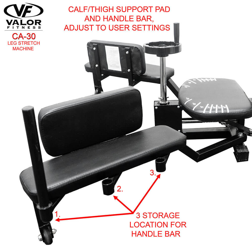 Valor Fitness CA-30 Leg Stretch Machine Calf Support Pad