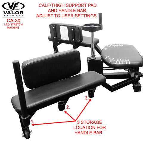 Image of Valor Fitness CA-30 Leg Stretch Machine Calf Support Pad