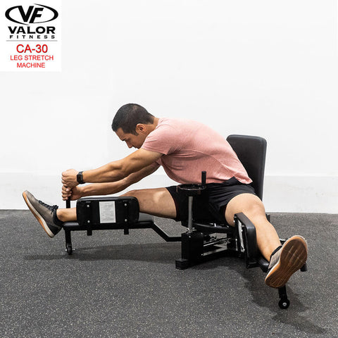 Image of Valor Fitness CA-30 Leg Stretch Machine Facing Left