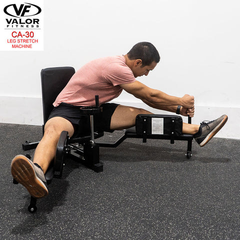 Image of Valor Fitness CA-30 Leg Stretch Machine Facing Right
