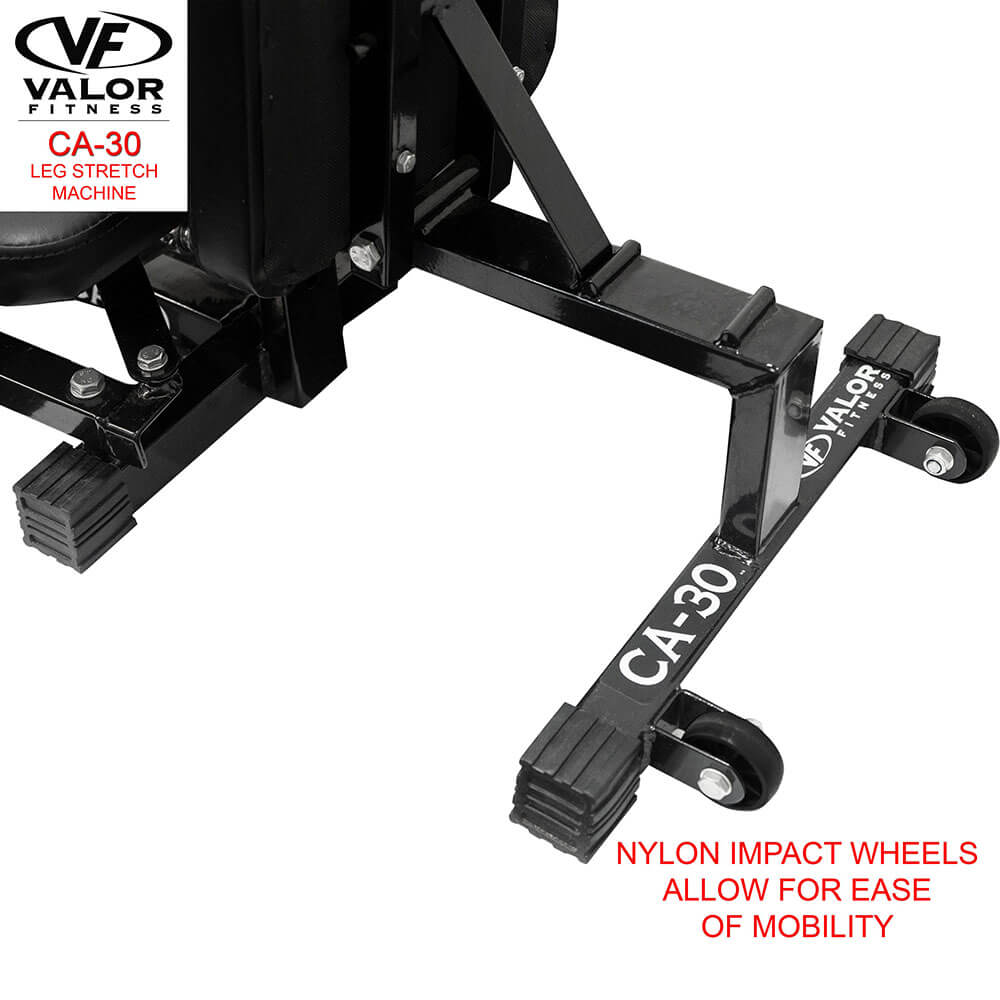 Valor Fitness CA-30 Leg Stretch Machine Wheels